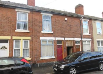 Thumbnail 2 bedroom terraced house for sale in Leacroft Road, Derby, Derbyshire