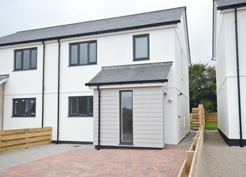 Thumbnail 3 bedroom semi-detached house for sale in Boskennal Lane, St Buryan