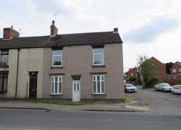Thumbnail 3 bed terraced house to rent in Sheffield Road, Killamarsh, Sheffield