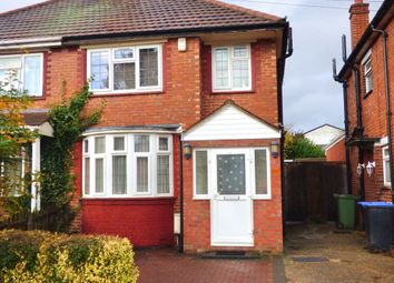 Thumbnail 3 bed end terrace house to rent in Carlyon Road, Wembley