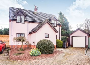 Thumbnail 3 bed detached house for sale in Lime Tree Close, Wattisfield, Diss