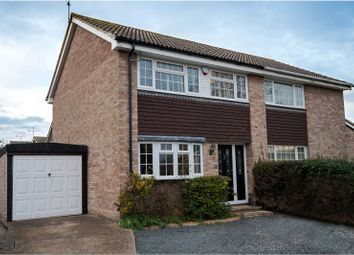 Thumbnail 3 bed semi-detached house for sale in Kingsdown Close, Earley