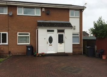 Thumbnail 2 bed flat for sale in Chester Close, Little Lever, Bolton