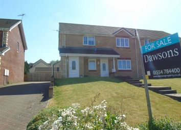 Thumbnail 2 bedroom flat for sale in Heol Y Bwlch, Bynea, Llanelli