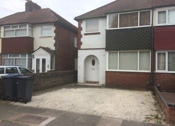 Thumbnail 2 bed semi-detached house to rent in Atlantic Road, Birmingham