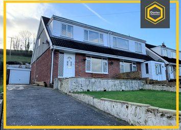 Thumbnail 3 bed semi-detached house for sale in Llwynifan, Llangennech, Llanelli