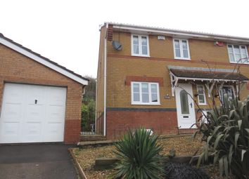 Thumbnail 3 bed semi-detached house for sale in Elm Wood Drive, Tonyrefail, Porth