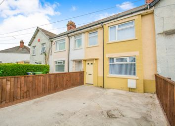 Thumbnail 3 bedroom terraced house for sale in Muirton Road, Splott, Cardiff