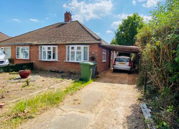 Thumbnail 2 bed semi-detached bungalow for sale in South Hill Close, Thorpe St. Andrew, Norwich