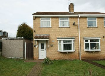 Thumbnail 3 bed semi-detached house for sale in Welfare Close, Shirebrook, Mansfield
