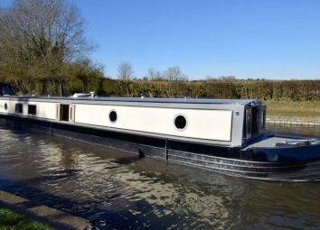 Thumbnail 2 bedroom houseboat for sale in New Wharf Road, London
