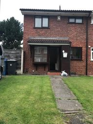 Thumbnail 1 bedroom terraced house to rent in Tenby Close, Callands, Warrington