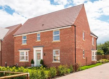 "Thumbnail 4 bed detached house for sale in ""Layton"" at Kilby Road, Fleckney, Leicester"