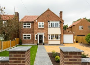 Thumbnail 4 bedroom detached house for sale in The Village, Stockton On The Forest, York