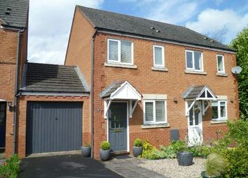 Thumbnail 2 bed semi-detached house to rent in Golding Way, Ledbury