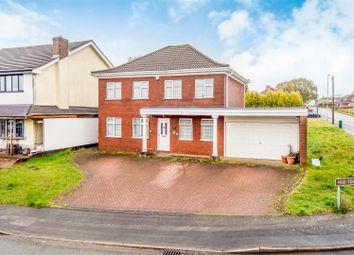 Thumbnail 5 bed detached house for sale in Vigo Terrace, Walsall Wood, Walsall