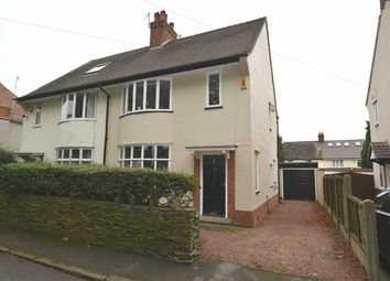 Thumbnail 3 bed semi-detached house for sale in Highfield Avenue, Newbold, Chesterfield, Derbyshire