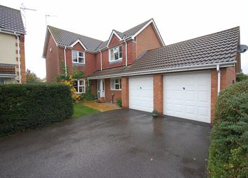 Thumbnail 4 bed detached house to rent in Larch Close, Ruskington, Sleaford