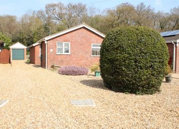 Thumbnail 3 bedroom bungalow for sale in Cawstons Meadow, Poringland, Norwich
