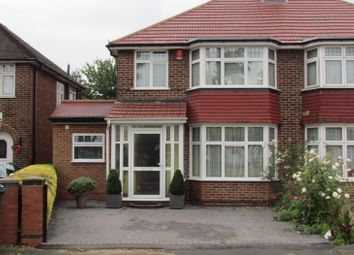 Thumbnail 4 bed semi-detached house to rent in Firs Drive, Cranford