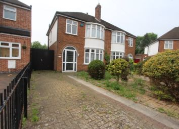 Thumbnail 3 bed semi-detached house to rent in South Kingsmead Road, Knighton, Leicester