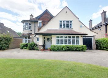 Thumbnail 4 bed detached house for sale in Great North Road, Brookmans Park, Hertfordshire