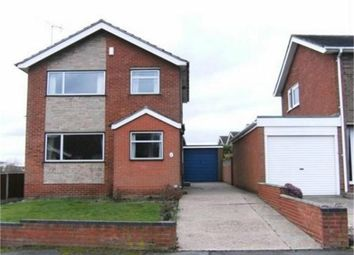 Thumbnail 3 bed detached house to rent in Bean Avenue, Worksop, Nottinghamshire