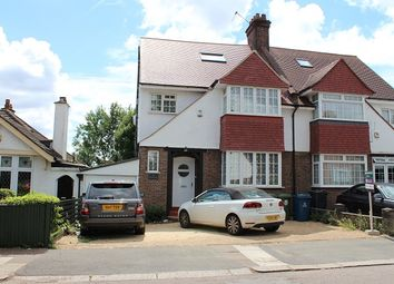 Thumbnail 5 bed semi-detached house to rent in The Meadow Way, Harrow Weald