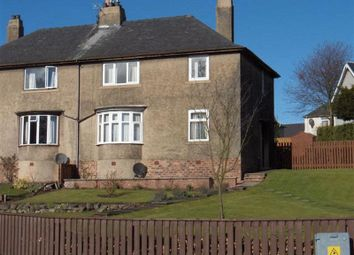 Thumbnail 3 bed semi-detached house to rent in Croft Crescent, Markinch, Fife