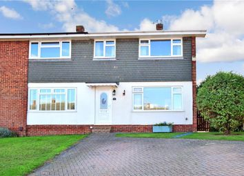 Thumbnail 3 bed semi-detached house for sale in Swallow Road, Birds Estate, Larkfield, Kent