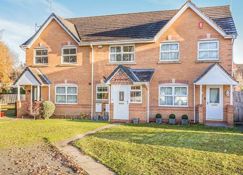 Thumbnail 2 bed terraced house for sale in Keepers Close, Moira, Swadlincote