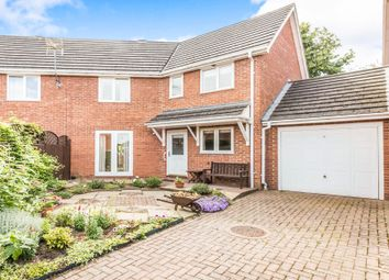 Thumbnail 3 bed end terrace house for sale in Farrier Court, Royston