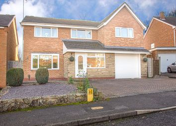 Thumbnail 5 bed detached house for sale in Wolverton Close, Redditch
