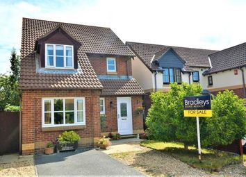 Thumbnail 3 bed detached house for sale in Westmoor Close, Plymouth, Devon