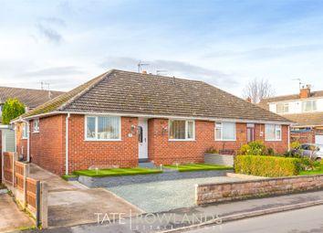Thumbnail 3 bed semi-detached bungalow for sale in Princes Drive, Flint, Flintshire