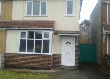 Thumbnail 2 bedroom semi-detached house to rent in Pooles Lane, Willenhall WV125Hw
