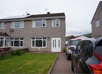 Thumbnail 3 bed semi-detached house to rent in Brookway Close, Port Talbot