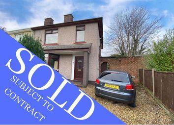Thumbnail 3 bed semi-detached house for sale in Chevrons Road, Shotton, Flintshire