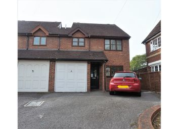 Thumbnail 4 bed semi-detached house for sale in New Hythe Lane, Larkfield, Aylesford