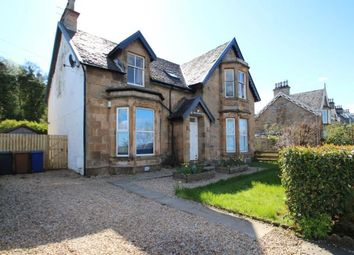 Thumbnail 3 bed flat for sale in Main Road, Langbank, Port Glasgow
