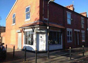 Thumbnail Retail premises for sale in Salford M6, UK