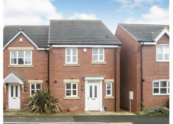 Thumbnail 3 bedroom semi-detached house for sale in Deansleigh, Lincoln