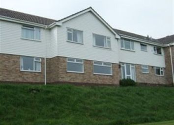 Thumbnail 2 bedroom flat to rent in Riverdale Close, Seaton, Devon