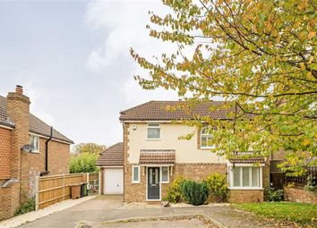 Thumbnail 3 bed detached house for sale in Mannamead, Epsom, Surrey