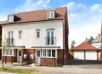 Thumbnail 4 bed semi-detached house for sale in Henry Lock Way, Littlehampton