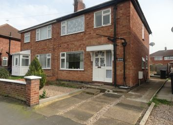 Thumbnail 1 bed flat to rent in Wayside Drive, Thurmaston, Leicester