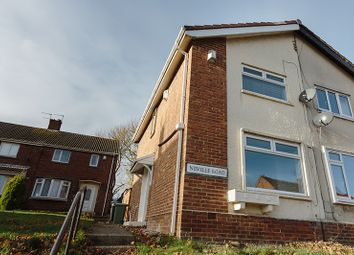 Thumbnail 2 bed semi-detached house to rent in Neville Road, Peterlee, County Durham