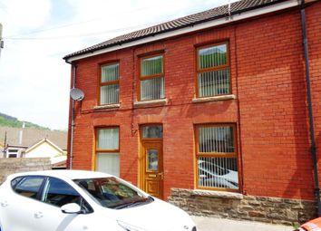 Thumbnail 3 bed end terrace house for sale in Pontygwaith -, Ferndale