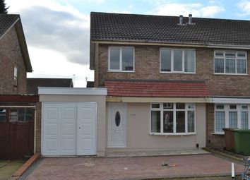 Thumbnail 3 bed semi-detached house to rent in Culmore Close, Willenhall