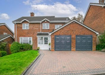 Thumbnail 4 bed detached house for sale in Cranham Close, Headless Cross, Redditch